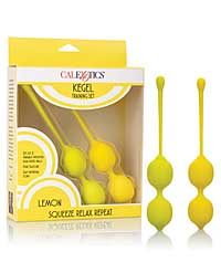 Kegel Training Set - Lemon