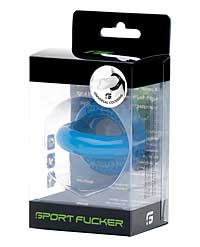Sport Fucker Original Cockring - Police Blue