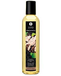 Shunga Organica Kissable Massage Oil - 8 oz Intoxicating Chocola