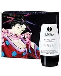 Shunga Rain of Love G Spot Arousal Cream - 1 oz