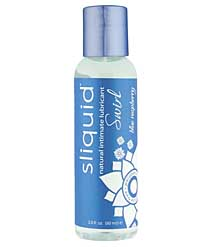 Sliquid Naturals Swirl Lubricant - 2 oz Blue Raspberry