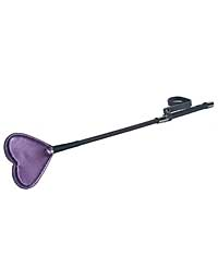 Spartacus Galaxy Legend Faux Leather Riding Crop Heart - Purple