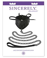 Sincerely Lace Posture Collar & Leash