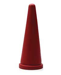Tantus Cone Large - Red Bulk