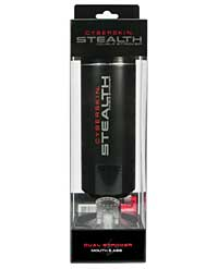 Cyberskin Stealth Dual Stroker Mouth & Anal