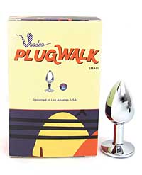 Voodoo Plug Walk Small Stainless Steel - Silver