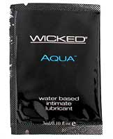 Wicked sensual care collection fragrance free 0.1oz lubricant -