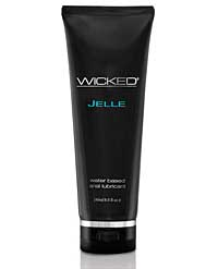 Wicked Sensual Care Jelle Waterbased Anal Lubricant - 8 oz Fragr