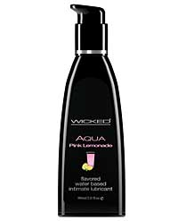 Wicked Sensual Care Collection Waterbased Lubricant - 2 oz Pink