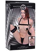 Master Series Acquire Easy Access Thigh Harness w/Wrist Cuffs -