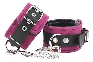 7967 Electric pink ankle/foot cuffs