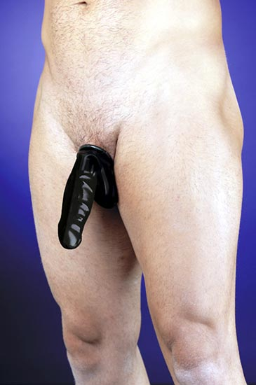 RB:9042 Latex Penis Sack