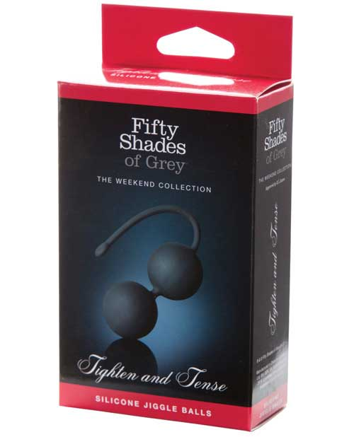 Fifty Shades of Grey Tighten and Tense Silicone Jiggle Balls - Click Image to Close