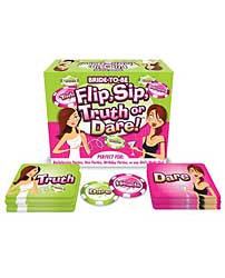Flip, Sip Truth or Dare Game