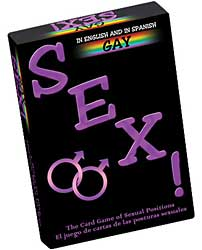 Gay Sex Card Game - Now Bilingual