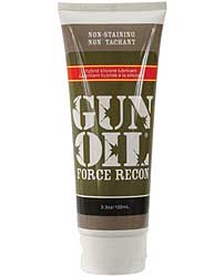 Gun Oil Force Recon Silicone/Water Based Hybrid Lube - 3.3 oz Tu