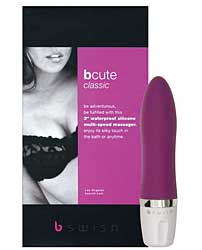 Bcute Classic Silicone Waterproof Massager - Rose