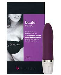 Bcute Classic Silicone Waterproof Massager - Purple