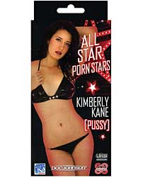 All-Star Porn Stars Ultraskyn Pocket Pal - Kimberly Kane