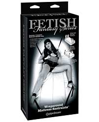 Fetish Fantasy Limited Edition Wraparound Mattress Restraints -