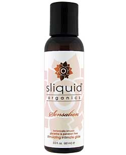 Sliquid Organics Sensation - 2 oz